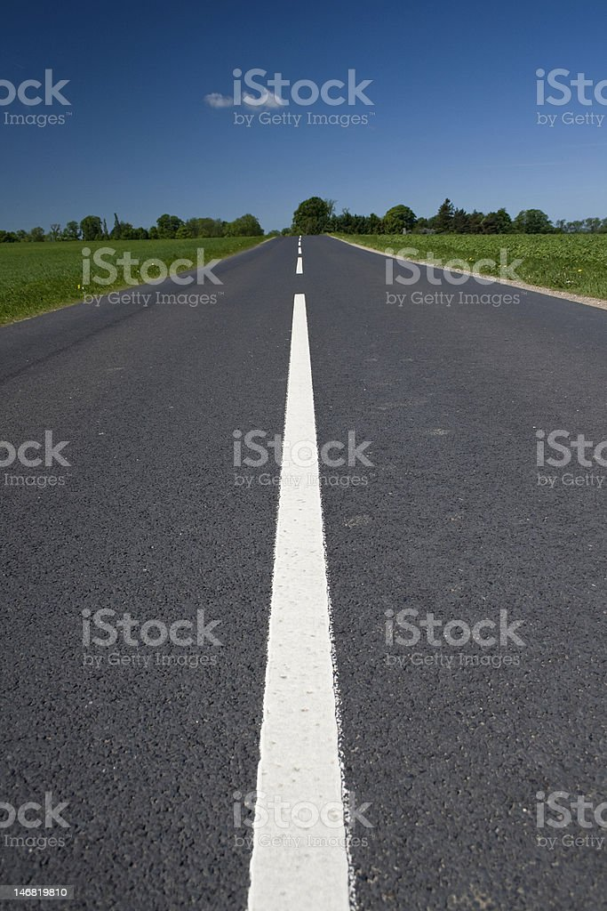 Road to Forever. The Way Forward. stock photo
