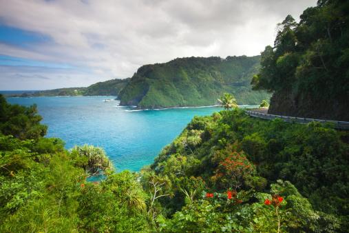 Road To Hana Maui Hawaii Stock Photo - Download Image Now