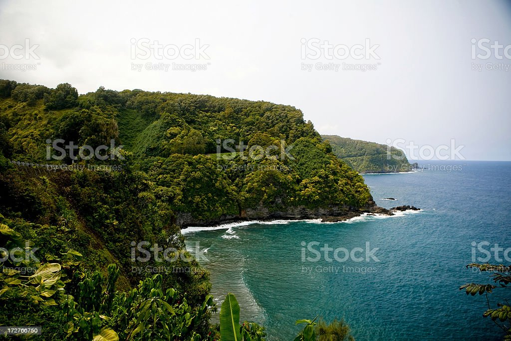 Road to Hana, Maui royalty-free stock photo