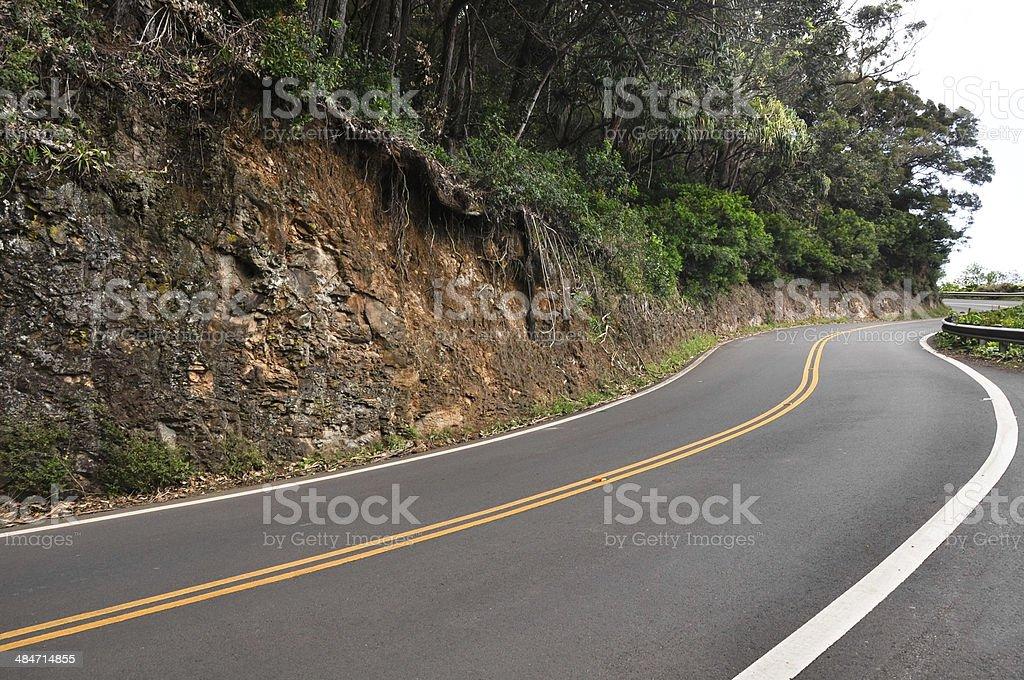 Road to Hana, Maui (USA) stock photo