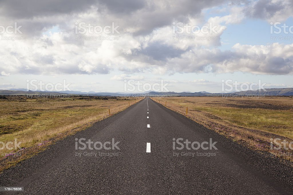 Road to heaven royalty-free stock photo