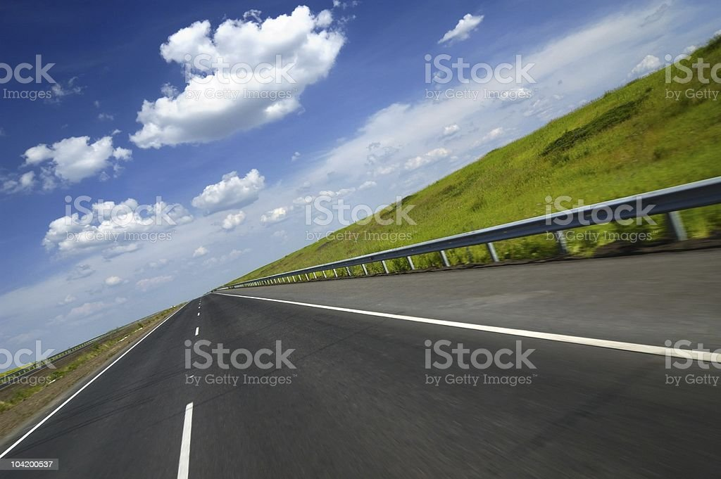 Road to hell royalty-free stock photo
