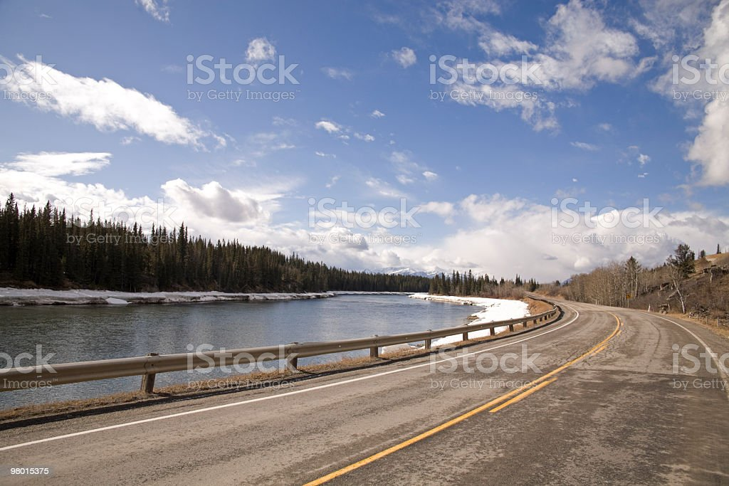 Road to nature royalty-free stock photo