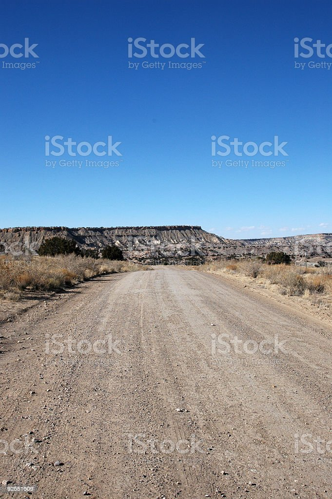 Road To Nowhere 1 royalty-free stock photo