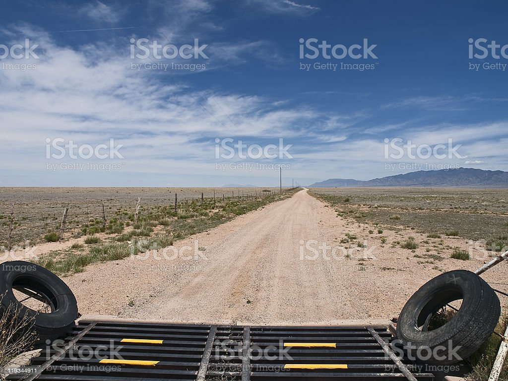 Road to Nowhere royalty-free stock photo