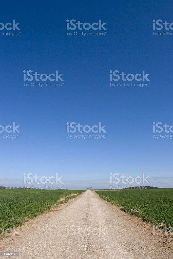 Camino al cielo foto de stock libre de derechos