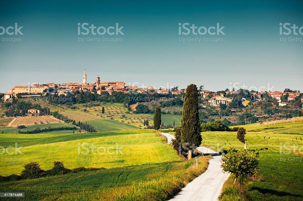 Road To Pienza stock photo