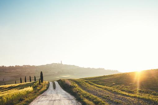 Road To Pienza