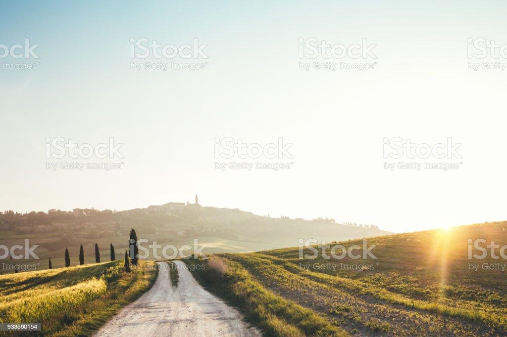 Road, Pienza – Foto