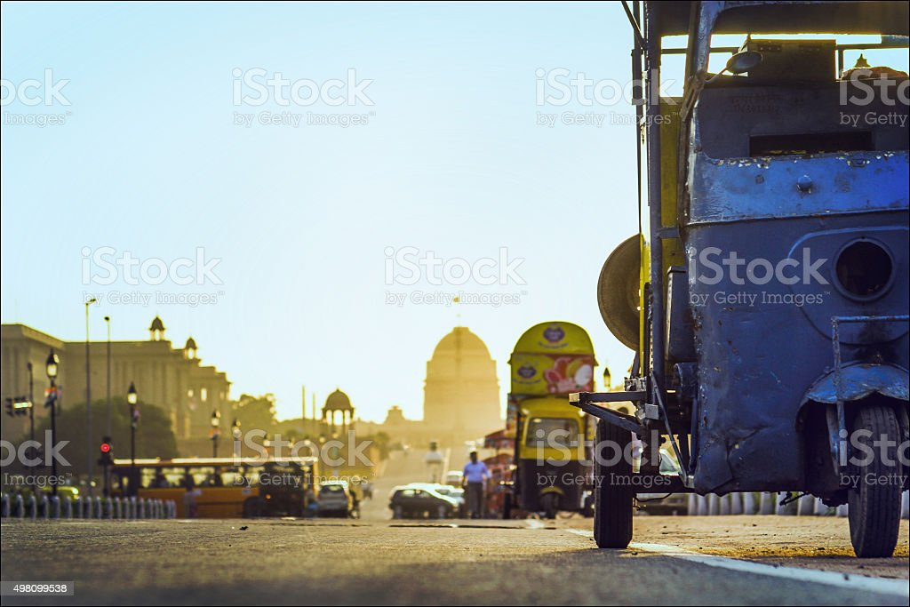 Road to President's house. stock photo