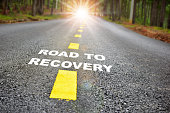 istock Road to recovery with sunbeam 1286273487