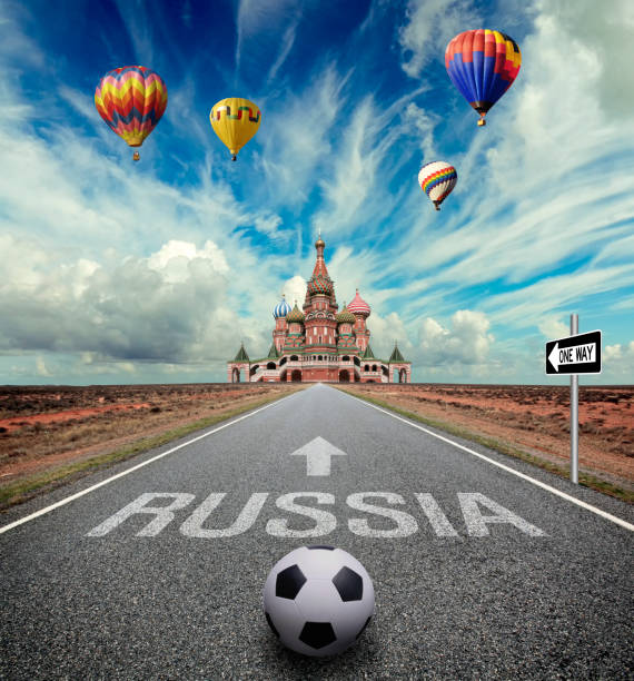 road to russia - russia stock pictures, royalty-free photos & images