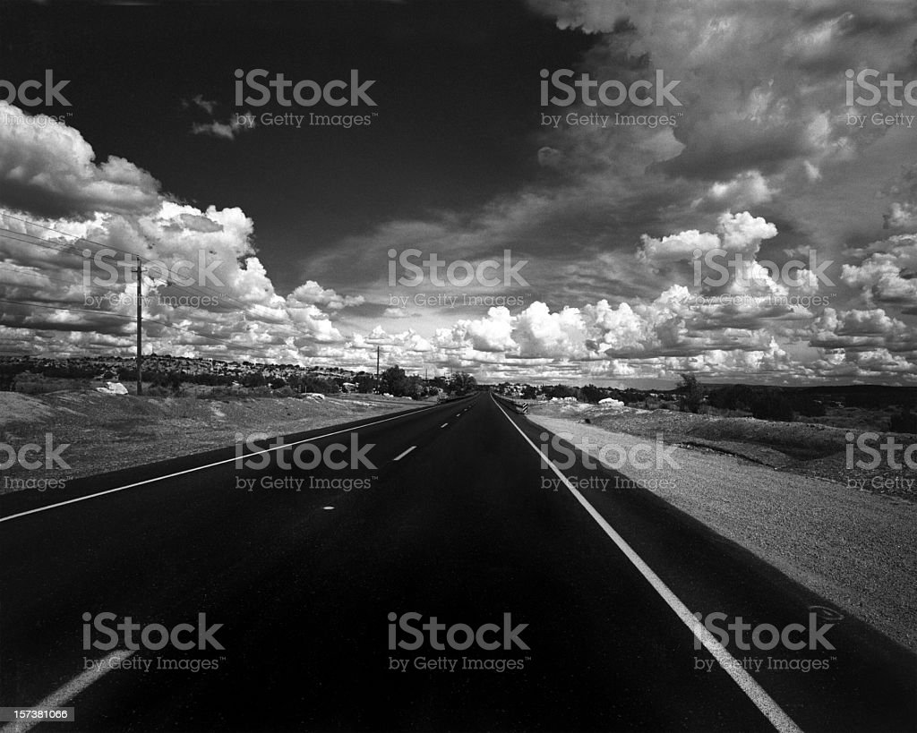 Road To Santa Fe royalty-free stock photo