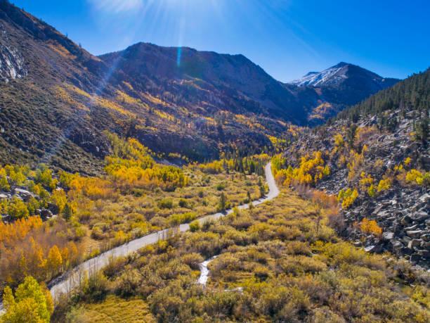 Road to South Lake, Sierra Nevada Mountains – Foto