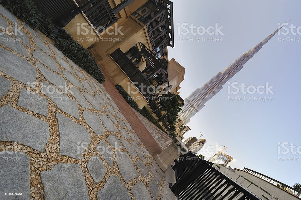 road to success in dubai royalty-free stock photo