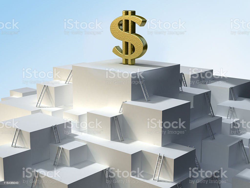 Road to success royalty-free stock photo