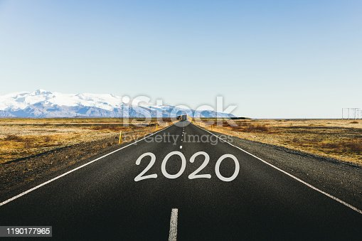 1150191246 istock photo Road to the New Year 2020 1190177965
