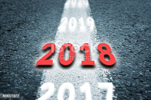 888342518 istock photo Road to the next years 858321972