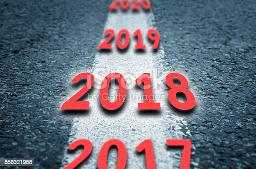 888342518 istock photo Road to the next years 858321988