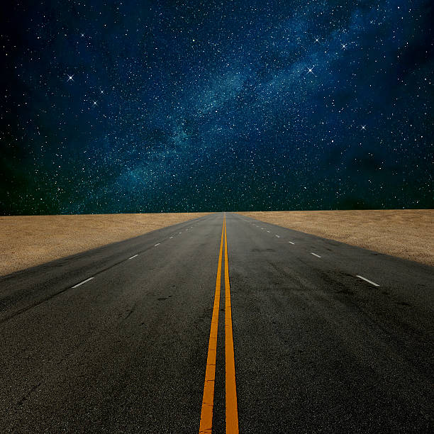 Royalty Free Desert Road Night Pictures Images And Stock