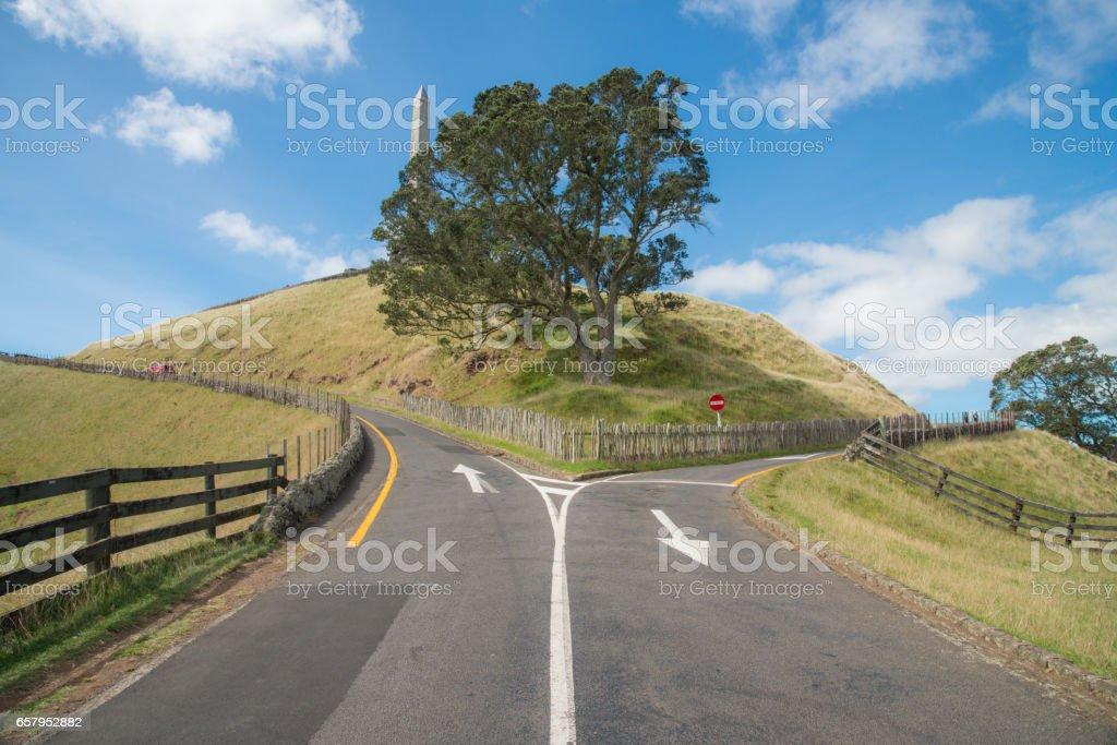 Maungakiekie / One Tree Hill is a 182-metre volcanic peak in...