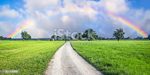 istock Road to the Rainbow 1193144986
