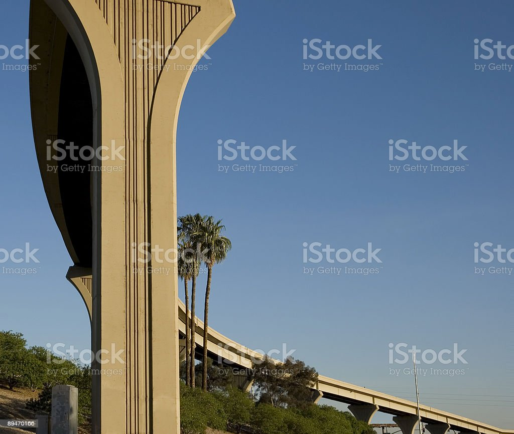 Road to the Sky royalty-free stock photo