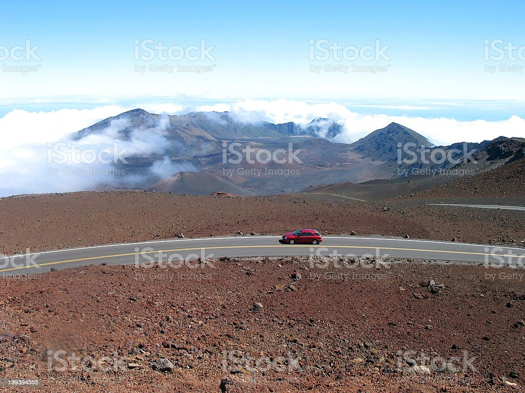 Road to the Volcano royalty-free stock photo