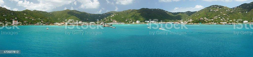 Road Town, Tortola, British Virgin Islands stock photo