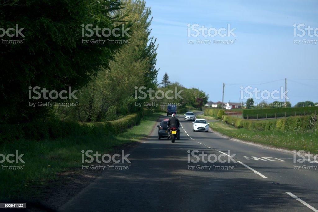 Der Straßenverkehr - Lizenzfrei Auto Stock-Foto