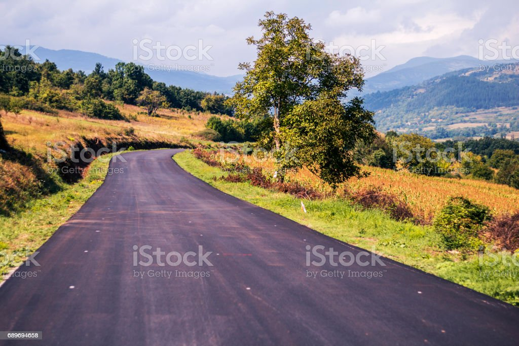Road Travel stock photo