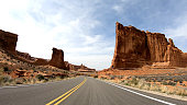 Road trip at Arches National Park in Utah - travel photography