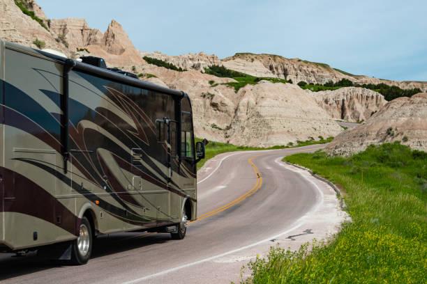 Road Trip, Badlands Nationalpark, South Dakota – Foto
