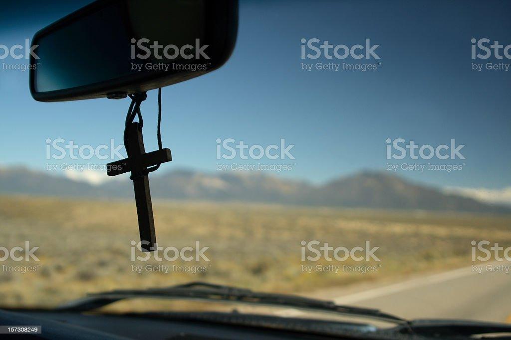Road Trip for Jesus stock photo