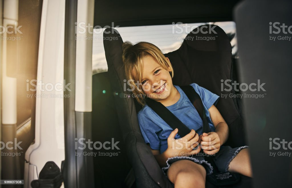 Road trip, here I come! stock photo