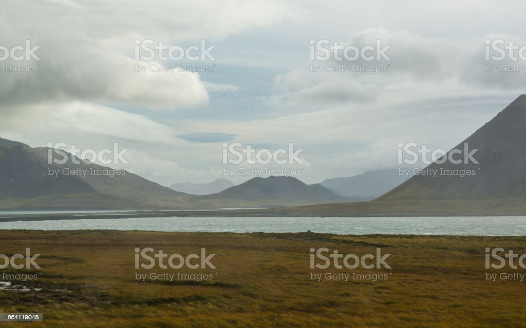 Road trip in Iceland royalty-free stock photo