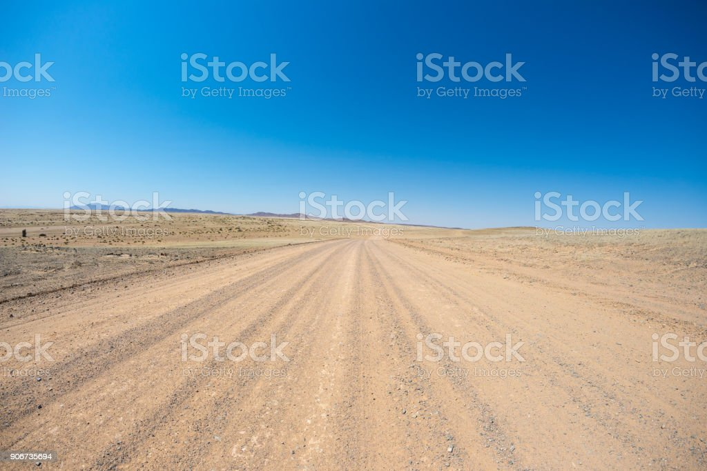 Road trip in the Namib desert, Namib Naukluft National Park, travel destination in Namibia. Travel adventures in Africa. stock photo