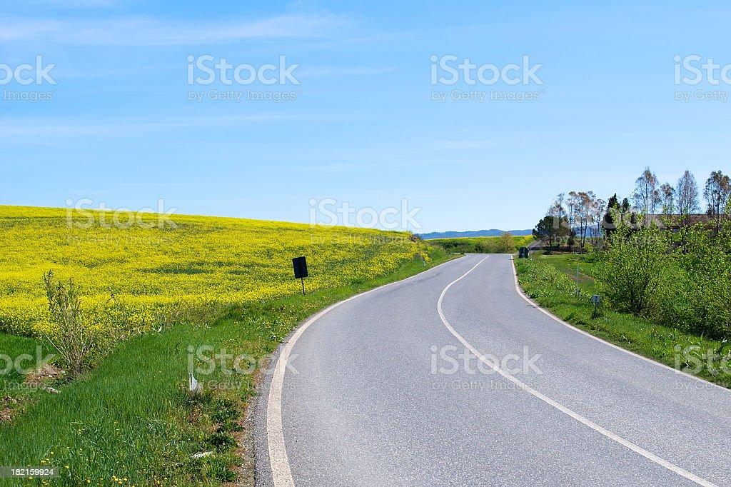 Road Trip in der Toskana, Italien Lizenzfreies stock-foto