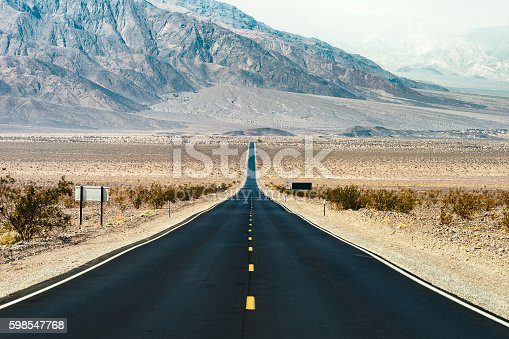 Road Trip in USA - Death Valley