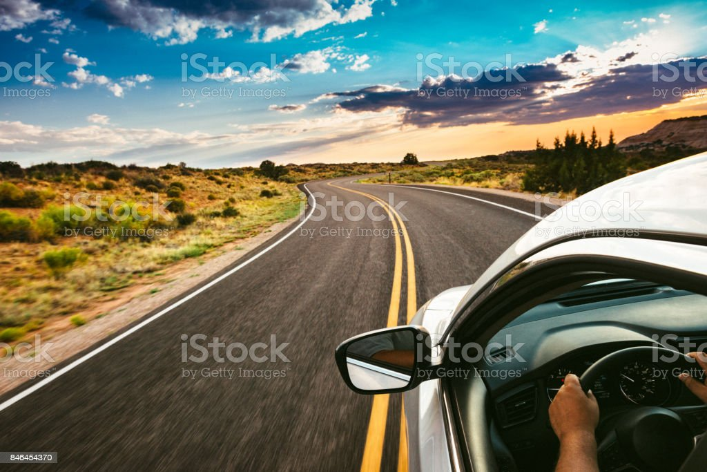 Road Trip stock photo
