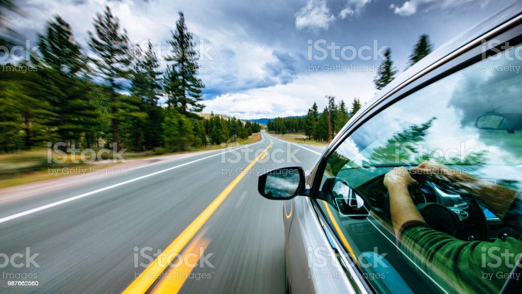도로 여행  - 로열티 프리 고개 스톡 사진