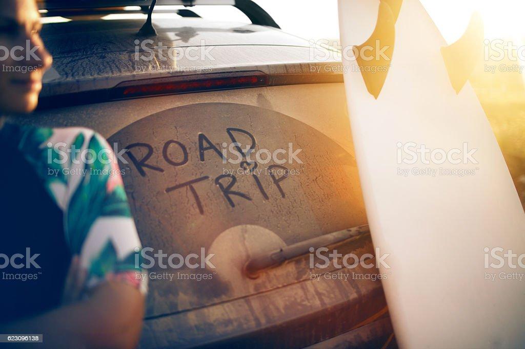 Road trip ready! stock photo