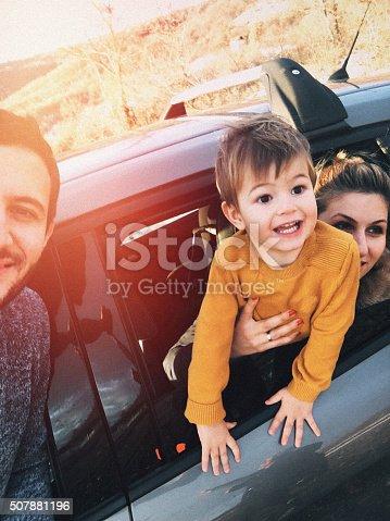 528474010istockphoto Road trip selfie of my family 507881196