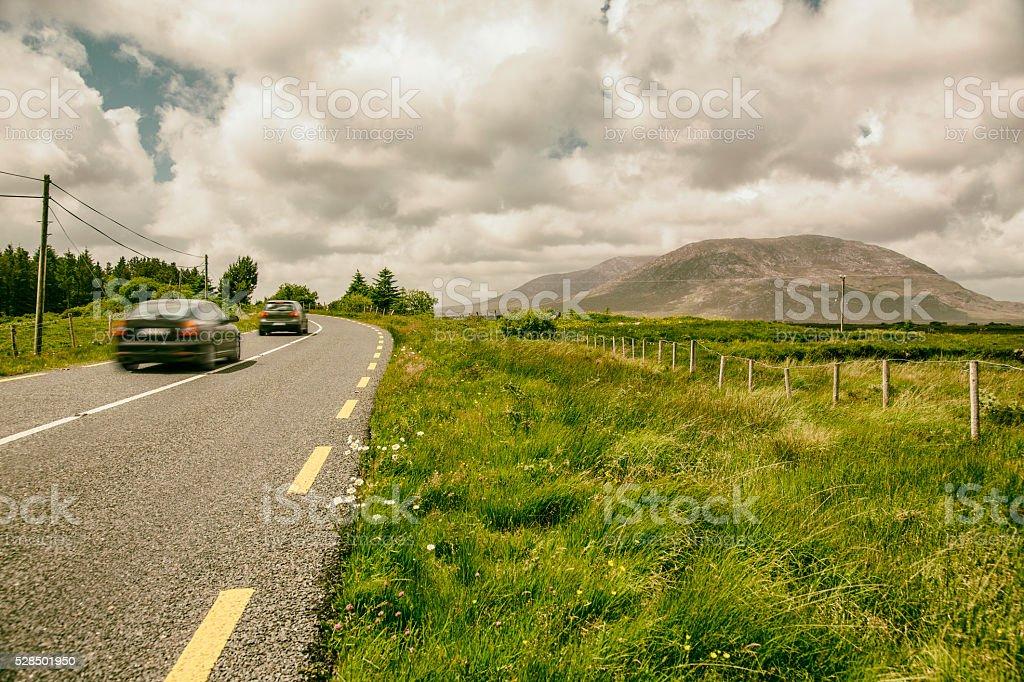 Road trip through Ireland stock photo