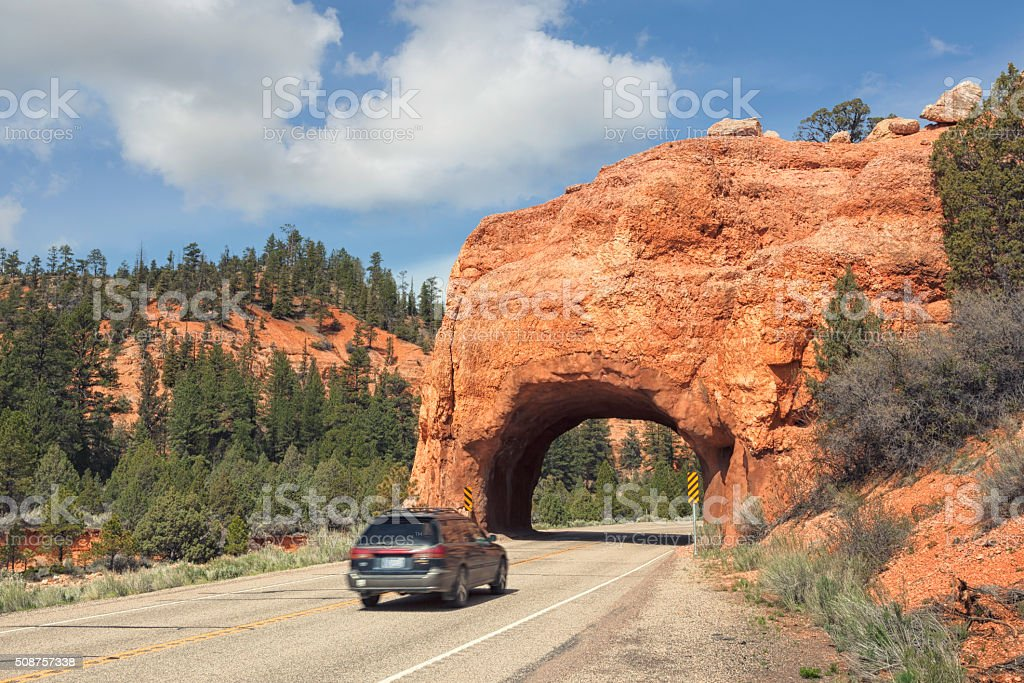 Road trip through Utah stock photo