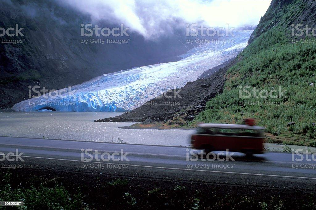 Road trip to Alaska royalty-free stock photo