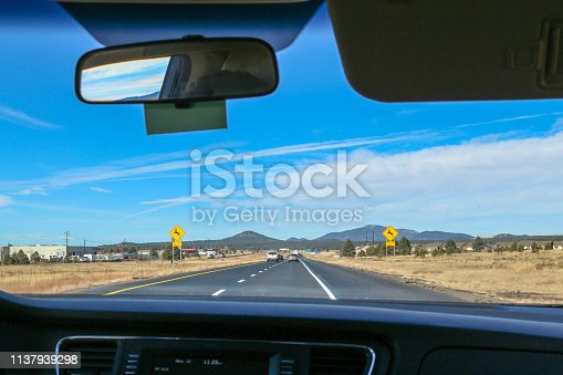 1030408008istockphoto Road Trip to Grand Canyon in Arizona From Inside a Car 1137939298