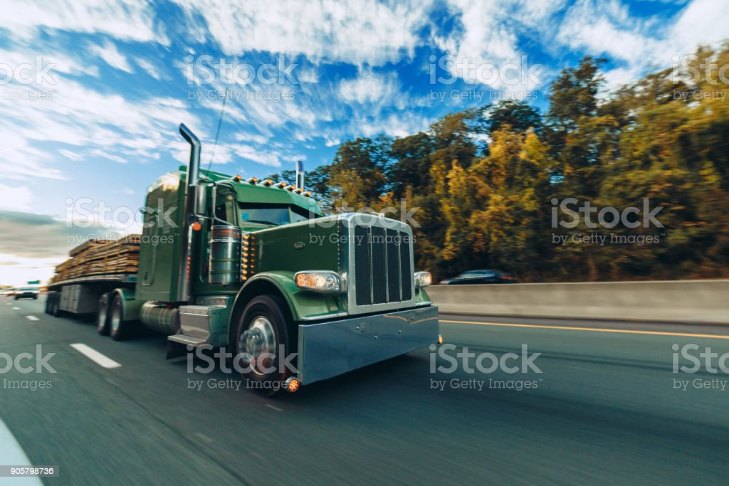 Road Truck stock photo