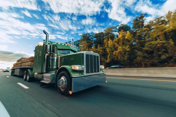 Road Truck stock photo