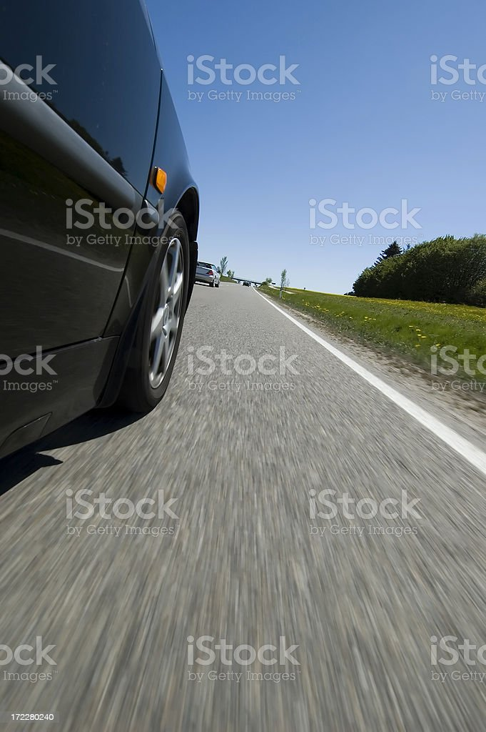 Road Tryp on Highway royalty-free stock photo